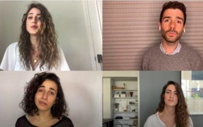 'Halleluja' in Hebreeuws, Arabisch en Engels bracht $ 1 miljoen op voor Israëlische eerste hulp verleners (video)