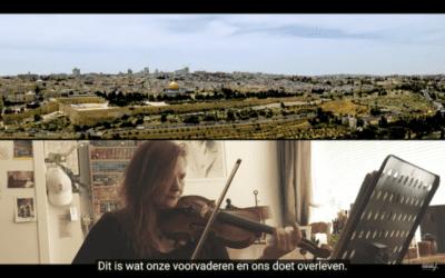 Joodse en Nederlandse muzikanten brengen samen indrukwekkend lied ten gehore!