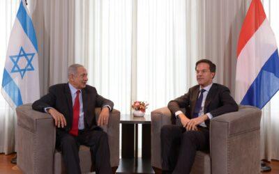 Rutte en Netanyahu bellen over samenwerking coronabestrijding