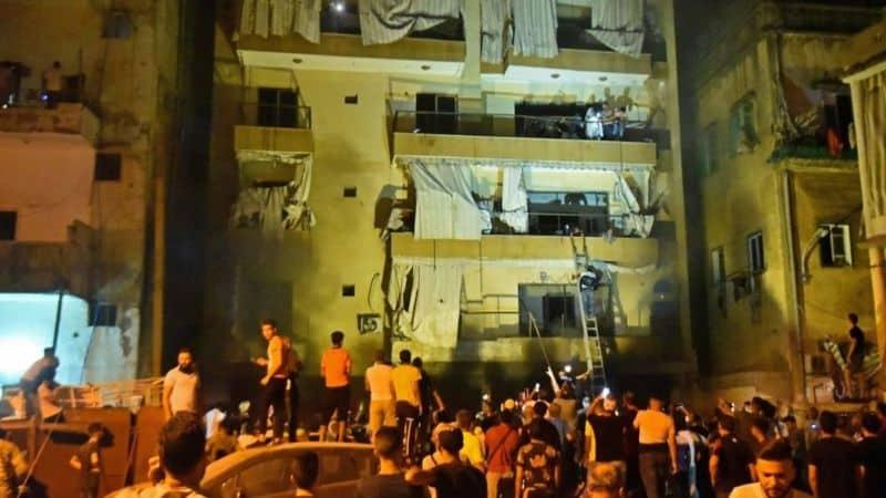 Weer explosie in Beiroet; vier doden en 20 gewonden