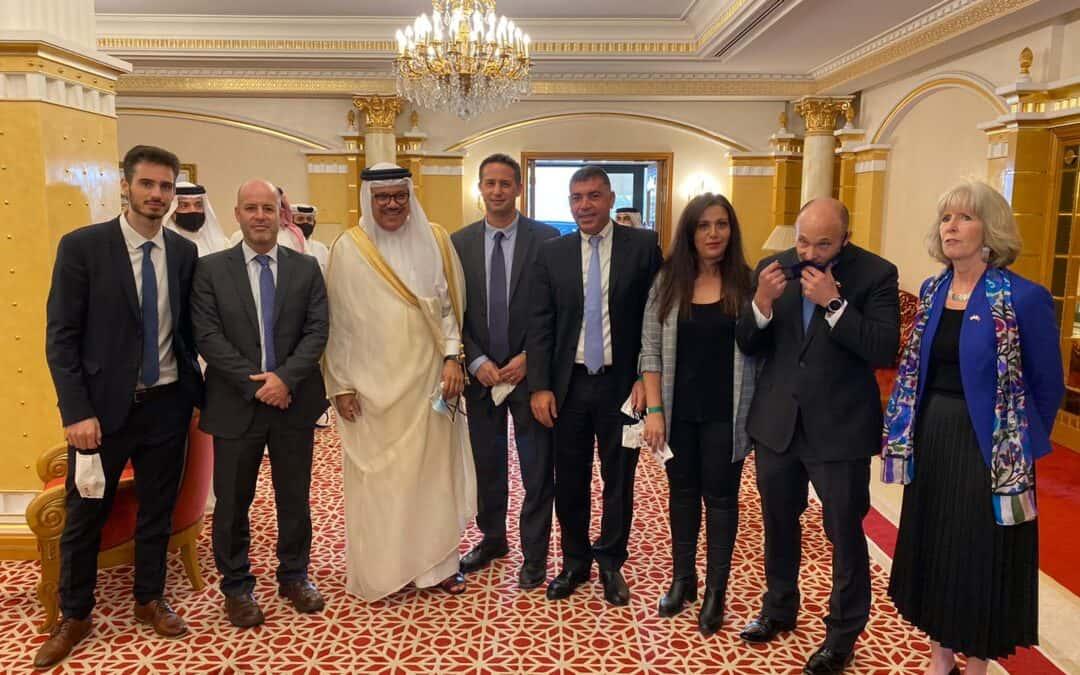 Israël en Bahrein tekenen bilaterale overeenkomsten