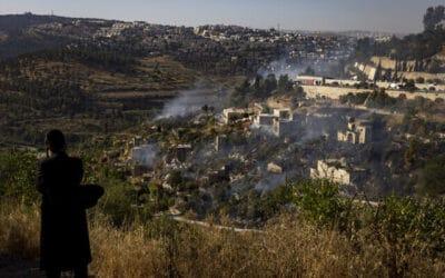 Enorme bosbranden in de buurt van Jeruzalem onder controle