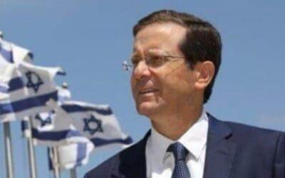 Herzog treedt aan als 11e president van Israël