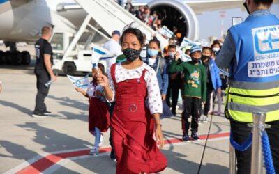 Israël verwelkomt honderden nieuwe immigranten tijdens Aliyah Week