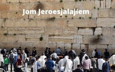 Vandaag: Jom Jeroesjalajiem: Dag van Jeruzalem