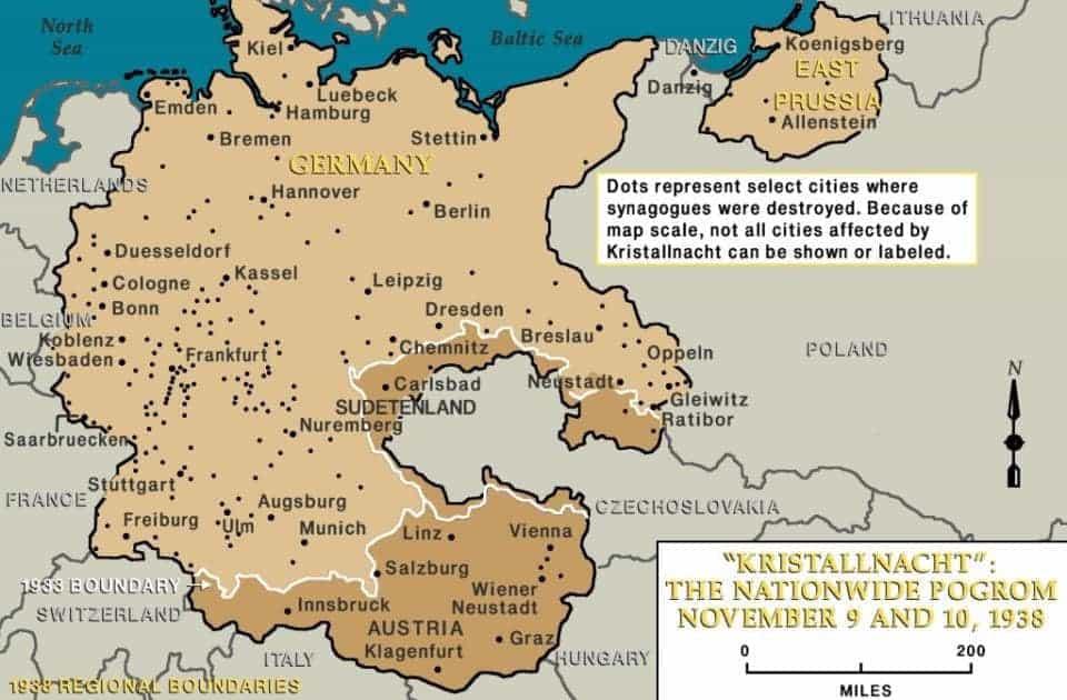 Kristallnacht 81 jaar geleden