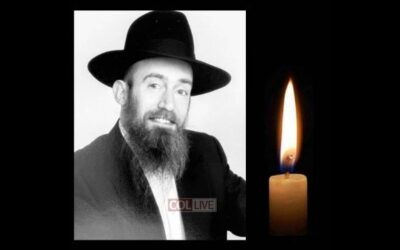 Rabbijn Yisroel Jacobs, 47, overleden BD'E