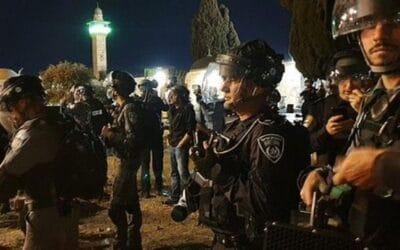 Rellen in Jeruzalem: 90 Palestijnen gewond; raket vanuit Gaza en rellen aan grens