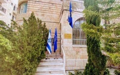 Kosovaarse ambassade in Jeruzalem geopend