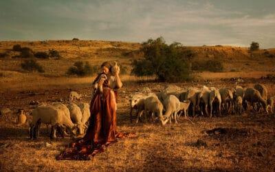 De Bijbel tot leven gebracht in collectie artistieke foto's