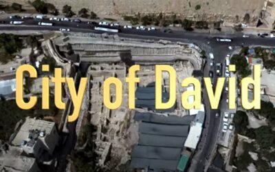 Stad van David en de tunnel van Hizkia in Jeruzalem