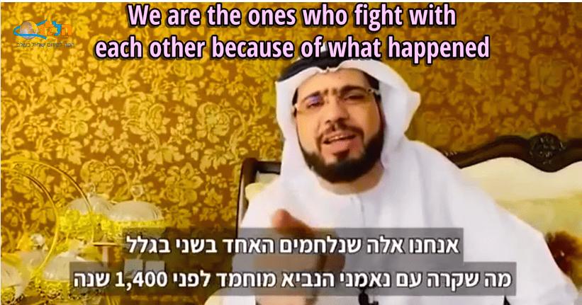 Opzienbarende terechtwijzing Arabische wereld door sheik