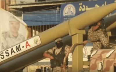 """Hamas dreigt weer: """"We zullen raketten laten regenen boven Israëlische steden"""""""