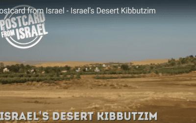 Geniet van Israël (Israel's Desert Kibbutzim)