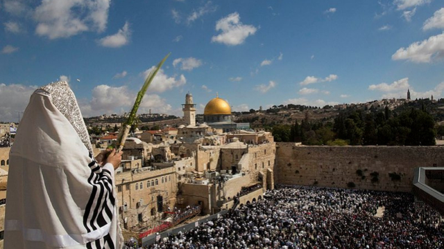 Loofhuttenfeest in Jeruzalem