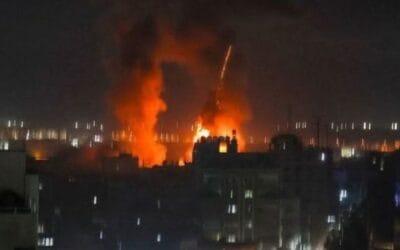 IDF valt Hamas-doelen in Gaza aan in reactie op brandballonen