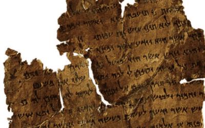 Oud-Hebreeuws document zou kunnen onthullen waarom Dode-Zeerollen in Qumran werden geplaatst