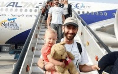 Het Joodse volk komt Thuis