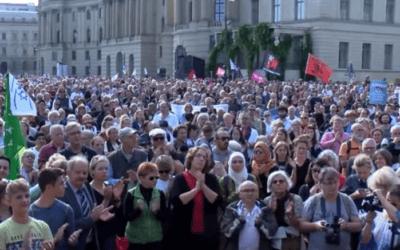 Tienduizenden demonstreerden in Duitsland tegen antisemitisme