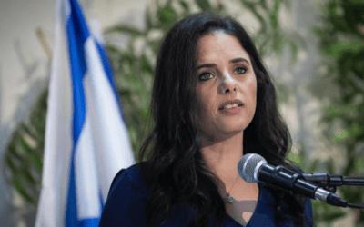 Shaked: 'Het beste is dat Lieberman toetreedt tot een rechtse regering'