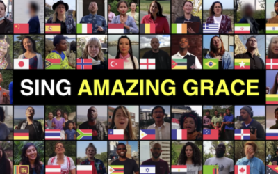 Ontroerend: Vijftig mensen uit door corona getroffen landen zingen christelijke klassieker!