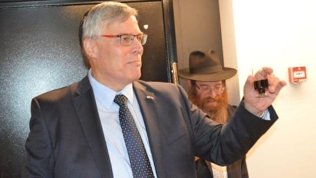 Nieuwe ambassade van Israël in Den Haag geopend