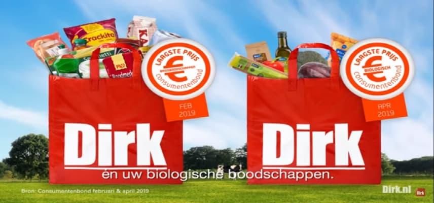 Supermarkt Dirk van de Broek haalt winactie offline waarin gespot wordt met Jezus
