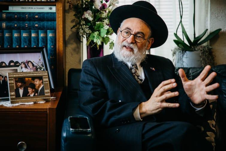 Dagboek van een Opperrabijn: Ook als alleen de betbetovergrootvader van Cohen Joods was zou ik hem helpen